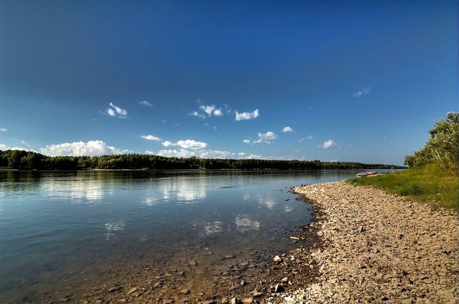 نهر أوب في روسيا