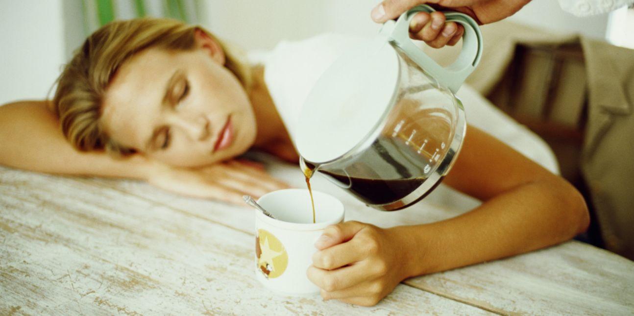 أسباب ادمان القهوة