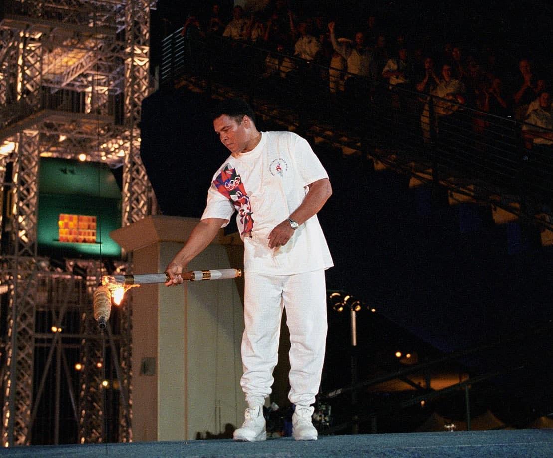 إضاءة الشعلة الأولمبية