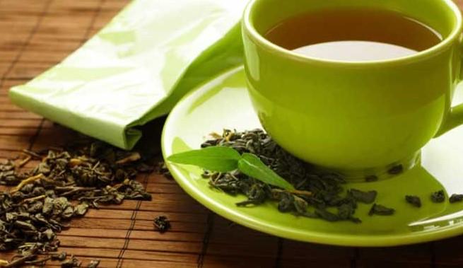 الشاي الأخضر بعد الأكل