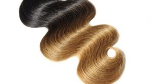 تفتيح الشعر الأسود