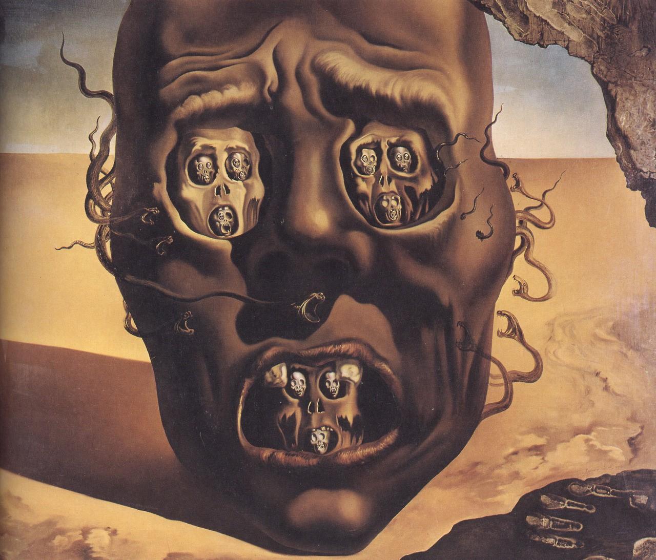 لوحة وجه الحرب (لا كارا دي لا غويرا)