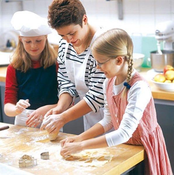 وصفات سهلة للطبخ مع الأولاد