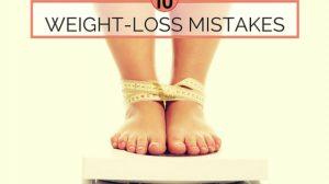 أخطاء خسارة الوزن