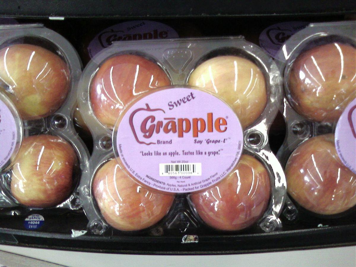 تفاح العنب - الأغذية المعدلة وراثيا