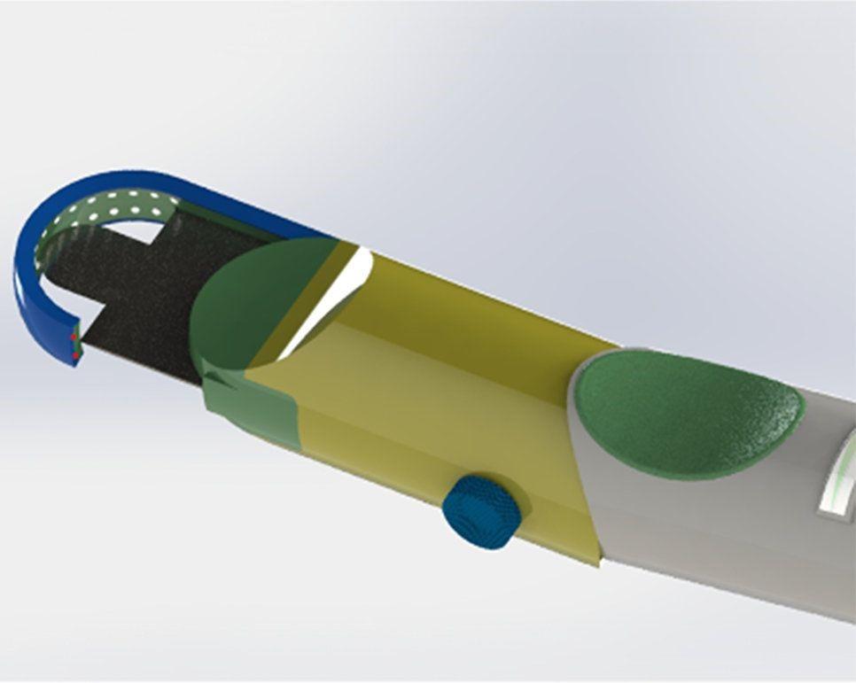 مشرط عالي الدقة لقطع الحبل الشوكي في عملية زراعة الرأس