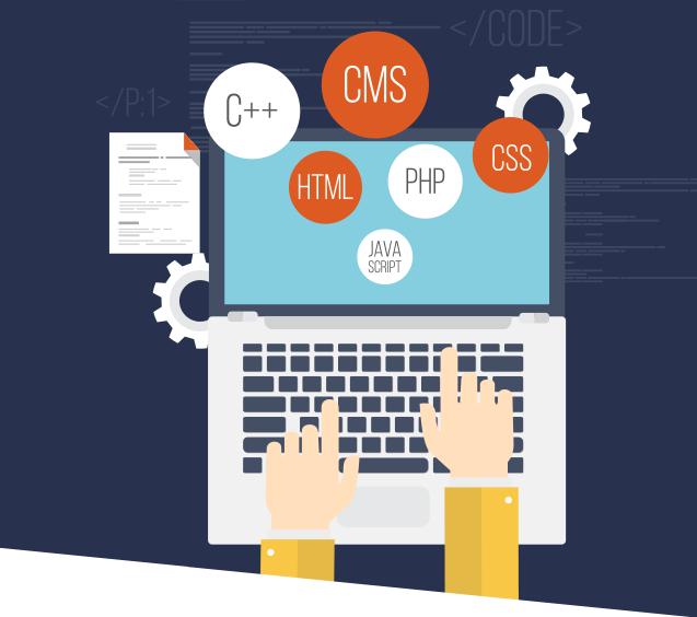 البرمجه الخاصة برمجة مواقع الإنترنت