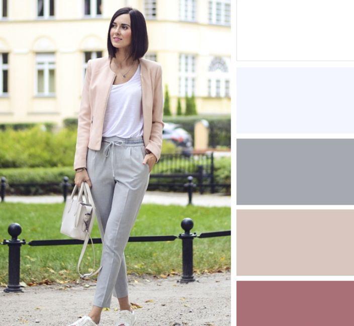 اللون البيج مع الألوان الفاتحة