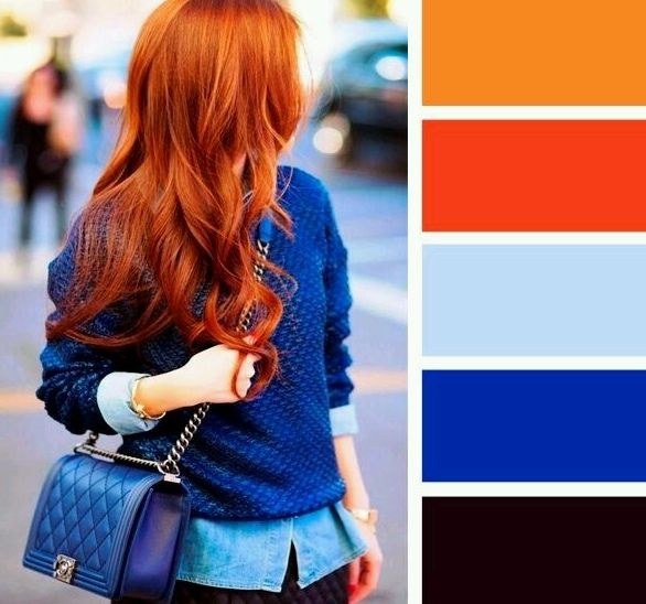ما هي أفضل الالوان التي تناسب اللون الكحلي في الملابس مجلتك