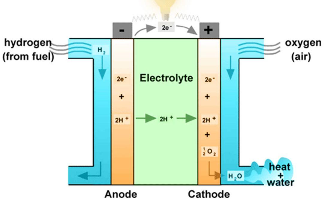 كيف تعمل خلية الوقود الجديدة