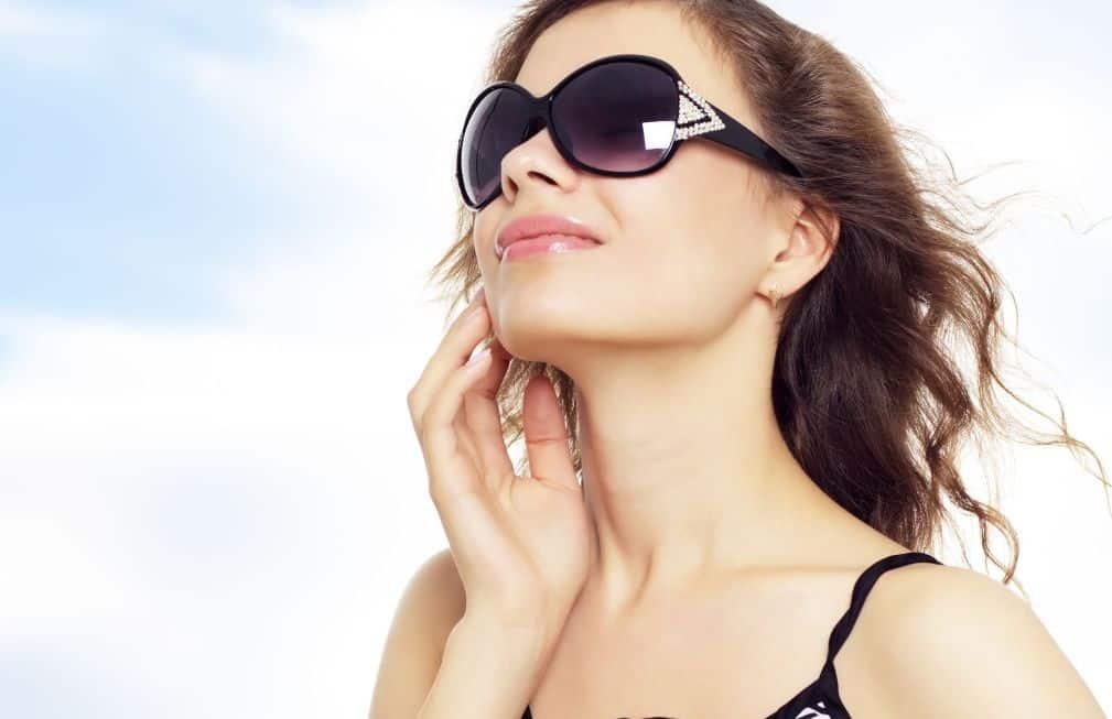 حماية الوجه من أشعة الشمس
