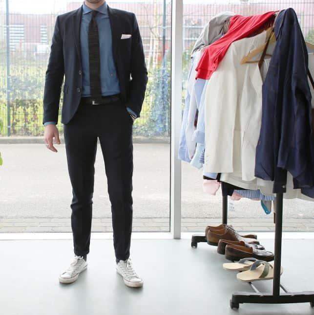 طريقة تنسيق الملابس للرجال