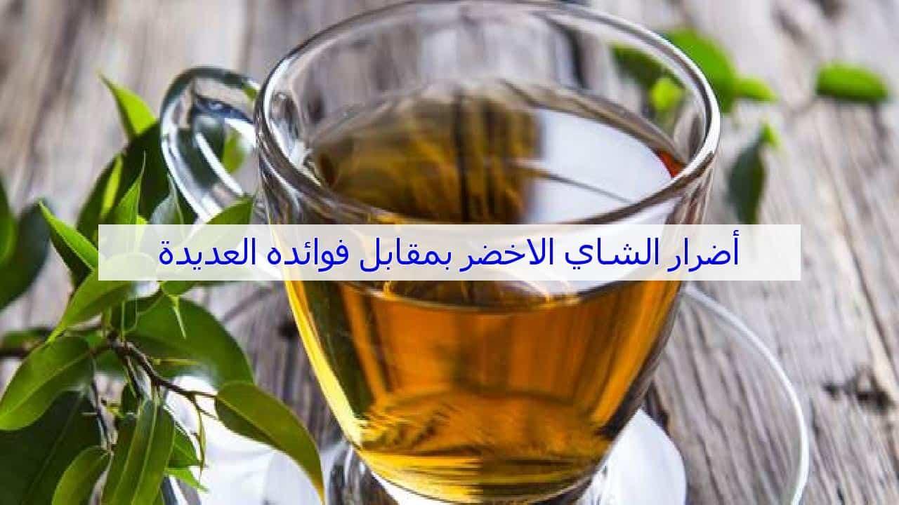 2 -فوائد واضرار الشاي الاخضر