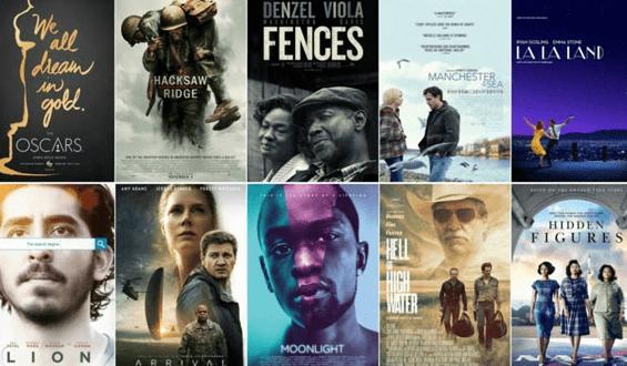 أفضل الأفلام الأجنبية لعام 2017