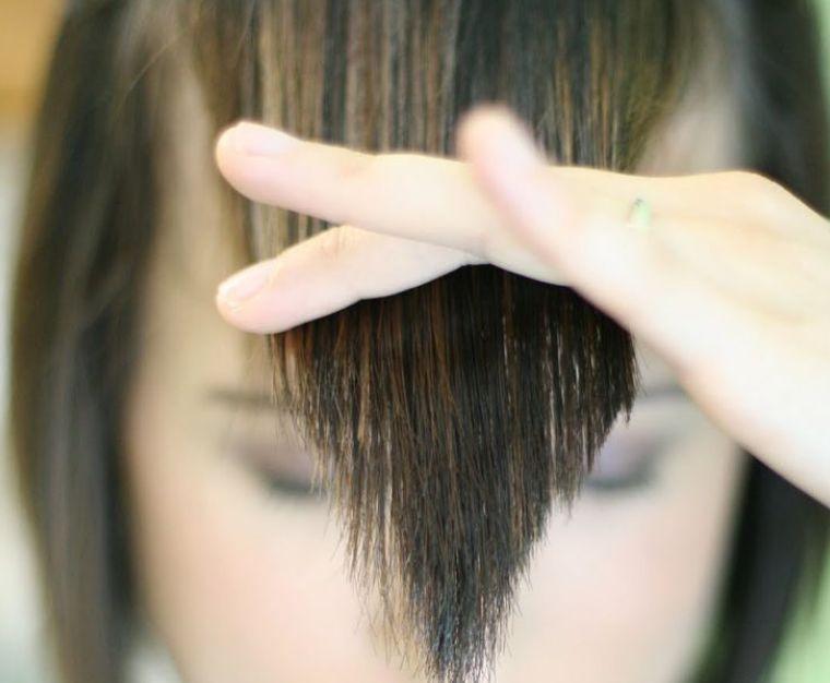 غرة الشعر حسب شكل الوجه