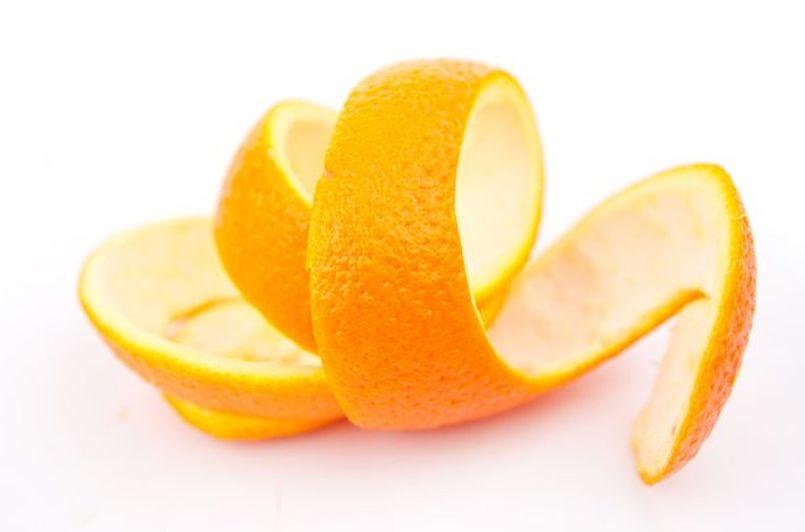 قشر الحمضيات (ليمون – برتقال)