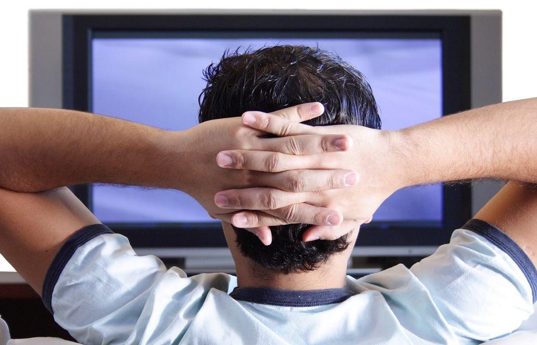 مشاهدة التلفزيون