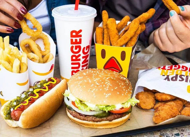 مطعم برجر كينج burger king