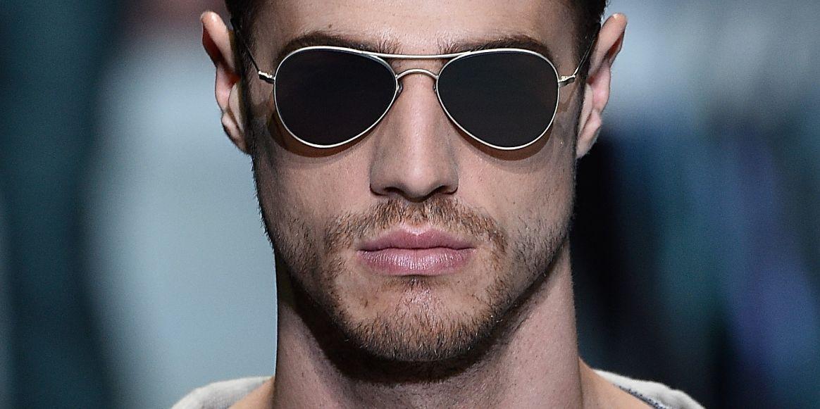 نظارات الوجه المستطيل