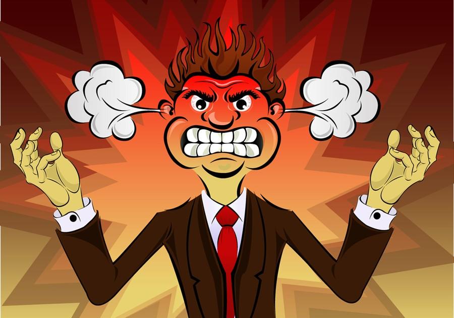 الغضب