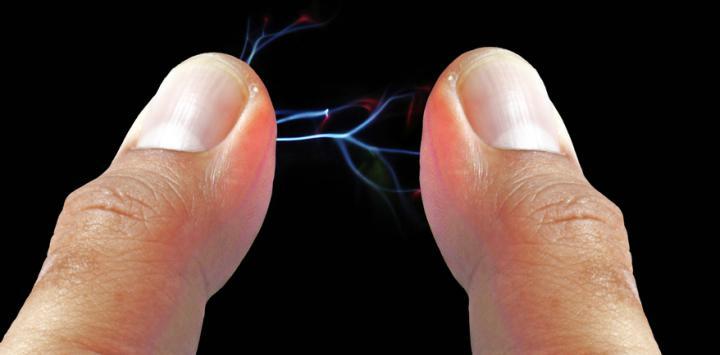 تفريغ كهرباء الجسم