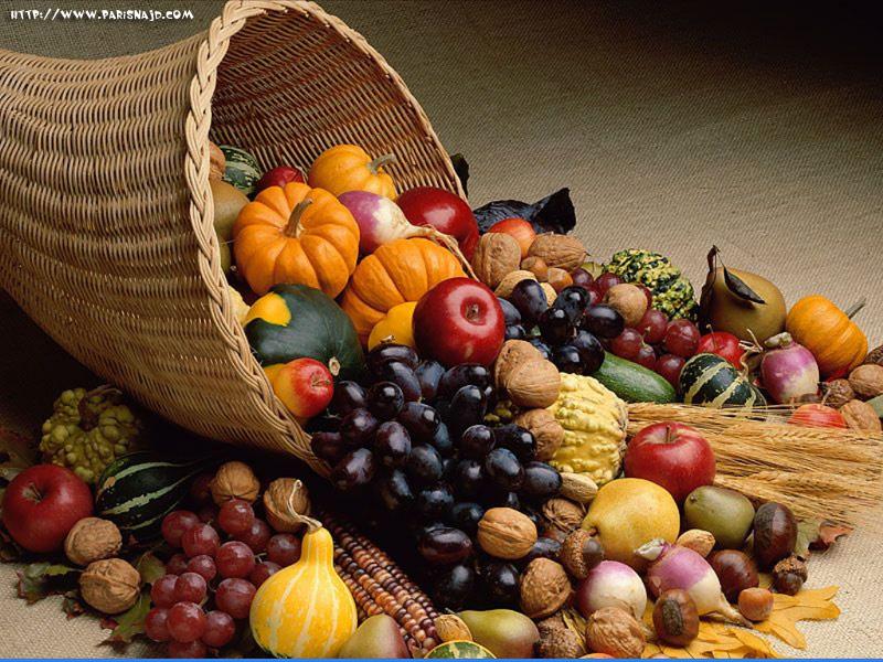 فوائد الخضراوات والفواكه
