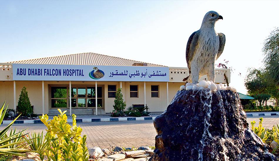 مستشفى أبو ظبي للصقور