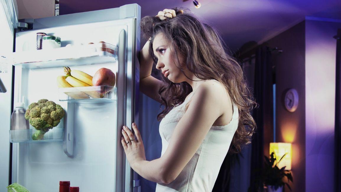 الأكل الصحي قبل النوم