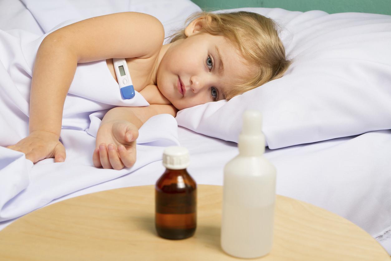 الحمى القرمزية عند الأطفال