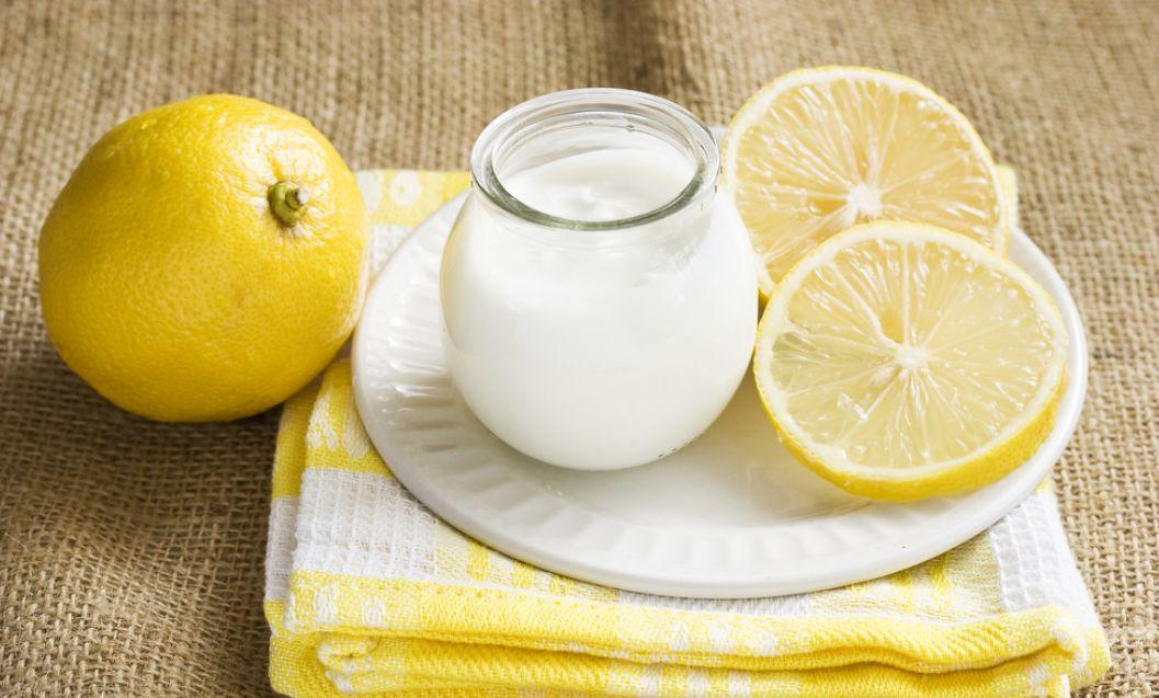 الزبادي مع الليمون للتخسيس