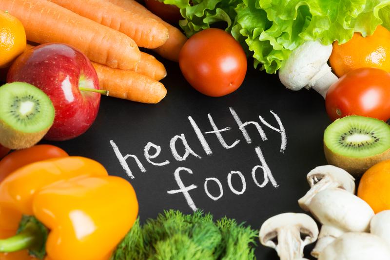 بحث عن الغذاء الصحي المتوازن