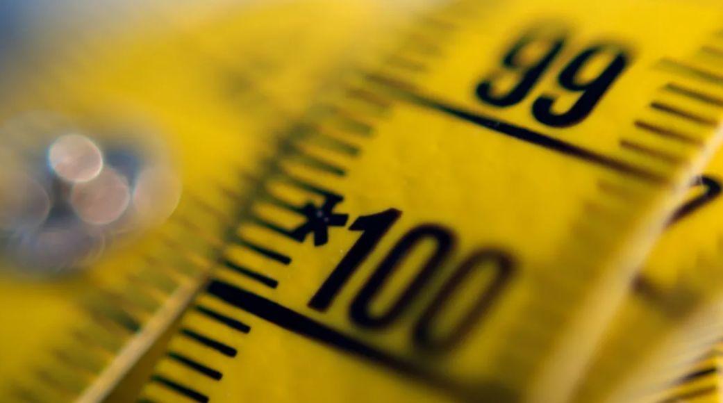 حجم هيكل الجسم لتحديد الوزن المثالي