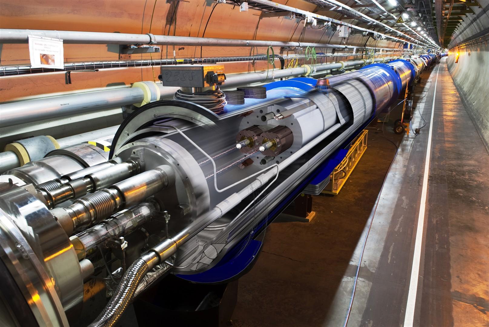 نظرية الأوتار الفائقة CERN