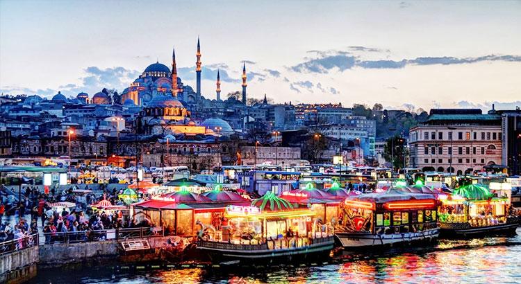 مناطق سياحية بإسطنبول
