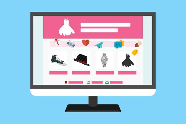 مواقع تسوق عبر الإنترنت