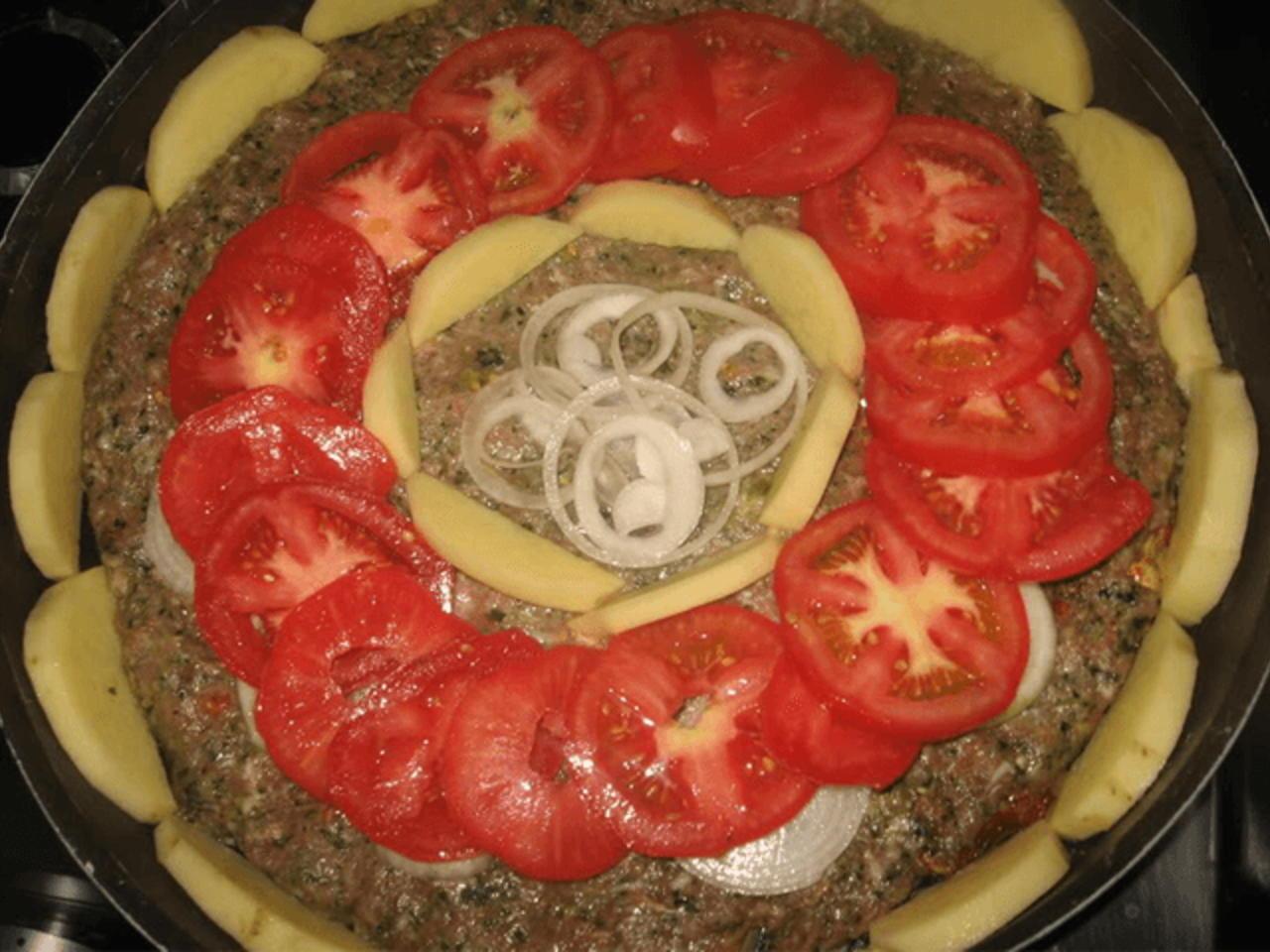 طبق اللحمة بالصينية