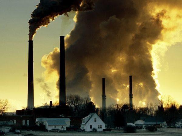 موضوع حول تلوث الهواء