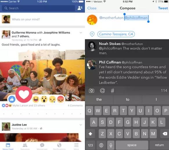 الشبكة الاجتماعية والاتصالات