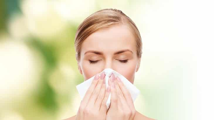 علاج حساسية الأنف والعين