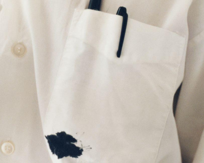 كيفية إزالة بقع الحبر من الملابس