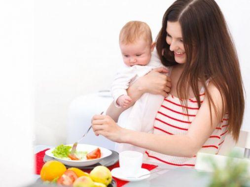 أطعمة للتخلص من الكرش بعد الولادة