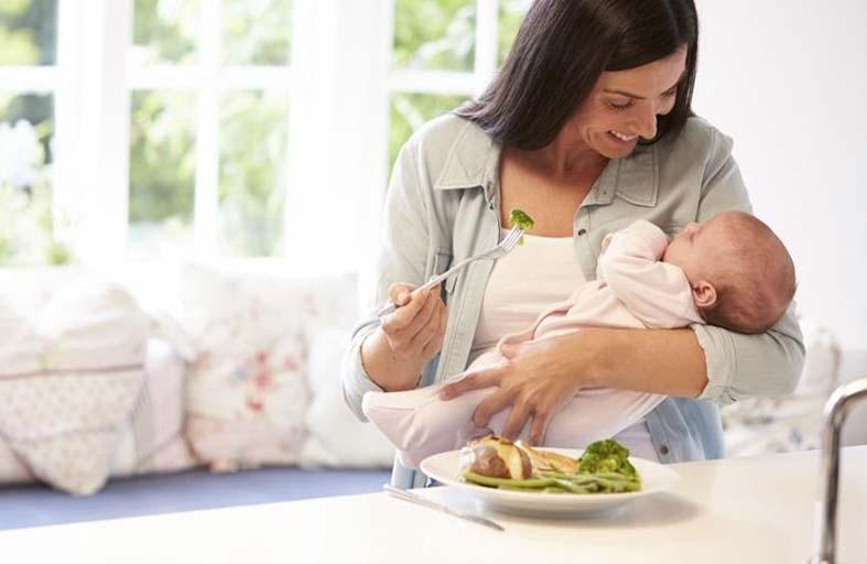 الأعشاب للتخلص من الكرش بعد الولادة