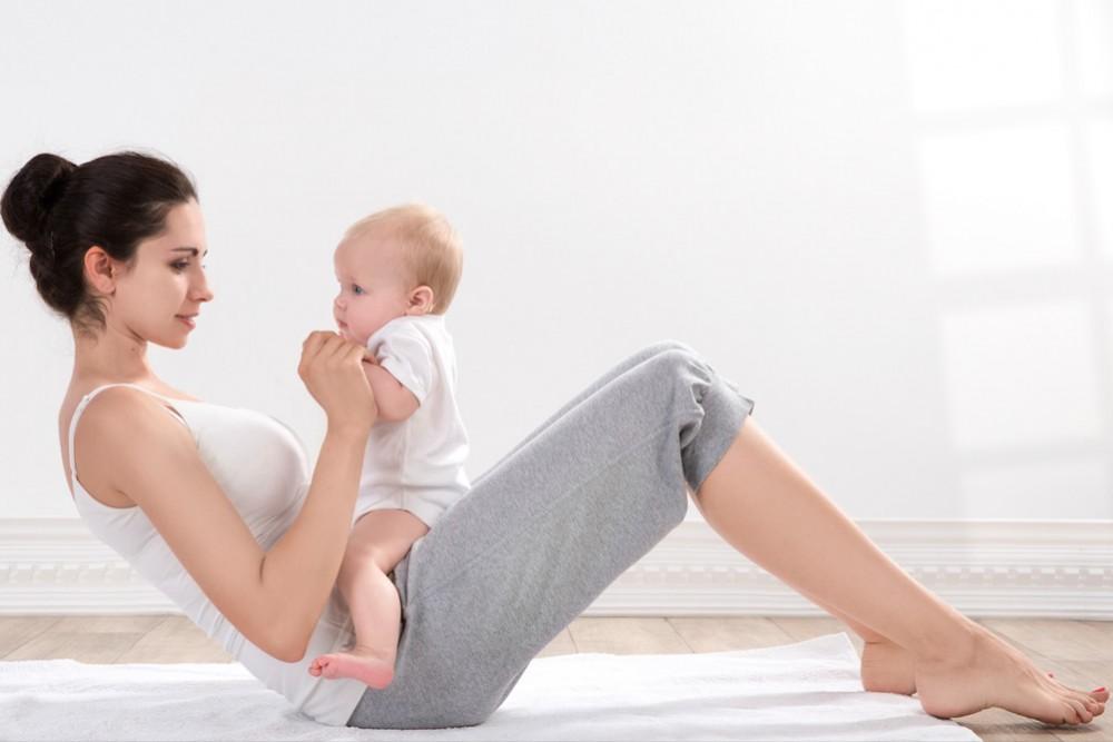 العناية بالجسم بعد الولادة