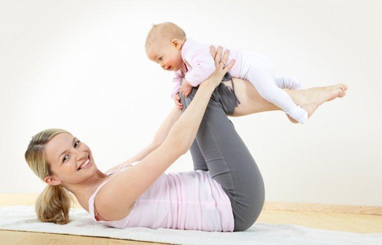 تمارين رياضية للتخلص من الكرش بعد الولادة