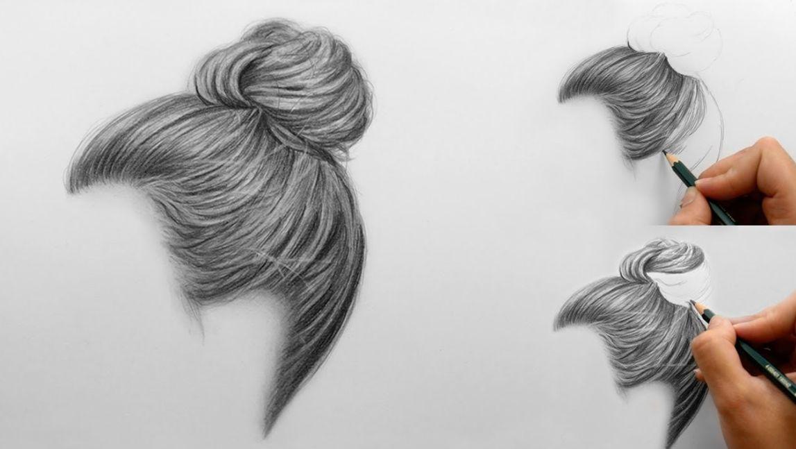 رسم الشعر
