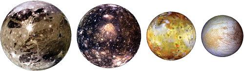 أقمار كوكب المشتري