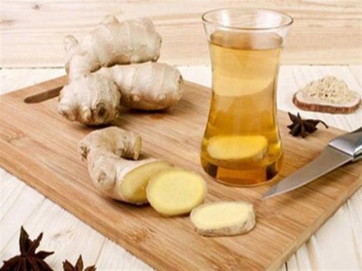 شاي بالزنجبيل