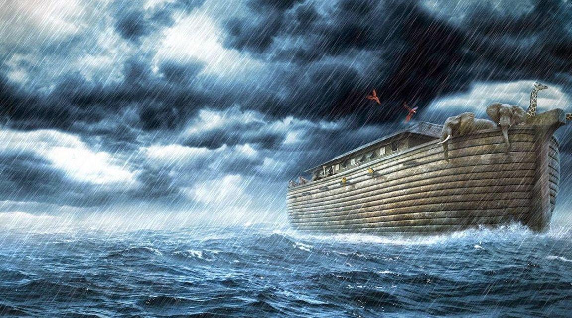 قصة نوح والطوفان