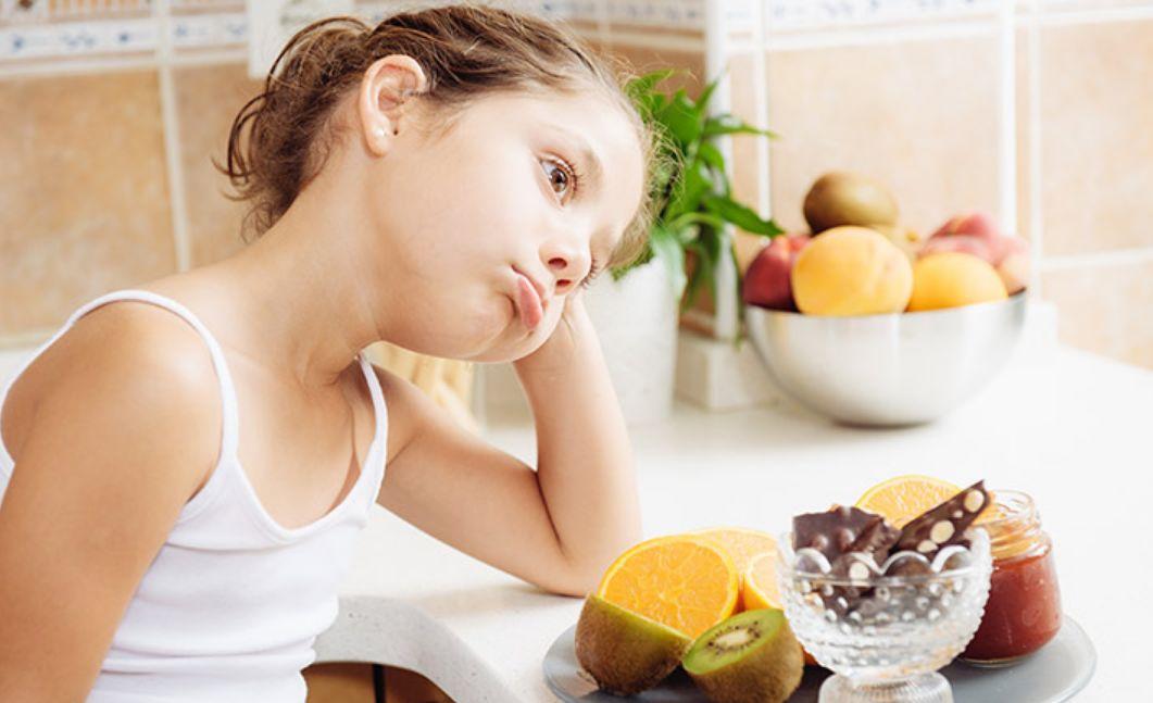 قلة الأكل عند الأطفال