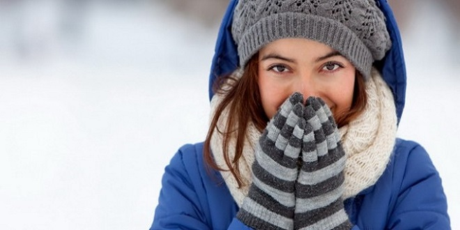 لبس الوشاح في الشتاء